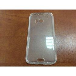 Двусторонний силиконовый чехол-накладка для Samsung Galaxy S7 Edge (iBox 360 YT000008759) (прозрачный)