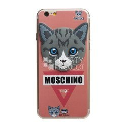 �������� ������ ��� apple iphone 6, 6s (moschino 0l-00028081) (�������, �������)