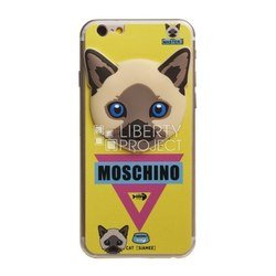 �������� ������ ��� apple iphone 6, 6s (moschino 0l-00028083) (�������, ������)
