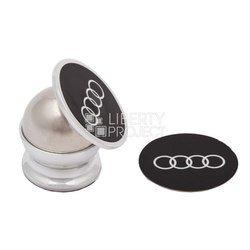 Универсальный автомобильный держатель Audi для телефонов (LP 0L-00028087) (самоклеющийся, магнит)