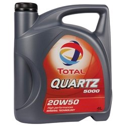 TOTAL Quartz 5000 20W50 4 л