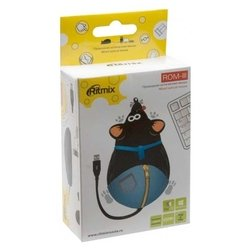 ritmix rom-111 black-blue usb