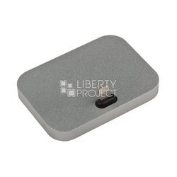 Док-станция Dock для Apple iPhone 5, 5C, 5S, 6, 6 plus, 6S, 6S Plus (LP 0L-00028129) (металл, серый)