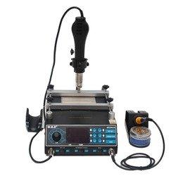 Станция паяльная W.E.P 853AAA фен+нагреватель плат (М0949056)