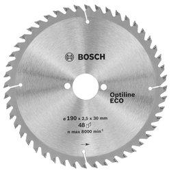 Пильный диск по дереву Bosch Optiline ECO 2608641790