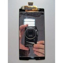 Экран (дисплей) для LG Spirit H422 с тачскрином без рамки (lcd1 97536) (черный)