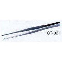 Пинцет CT Brand CT-02 прямой рифленый 125мм