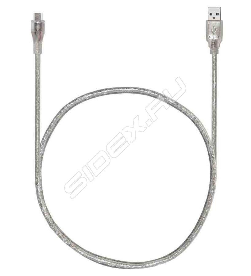 Greenconnect Premium USB 2.0 AM-AF Transparent GCR-UEC21M-BD2SG-1.0m