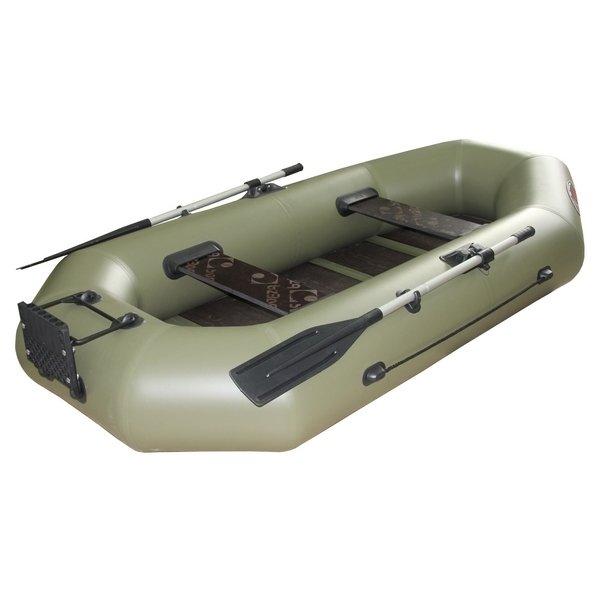 надувная лодка пвх турист-уфа юрок 22 утс слань
