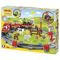 Ecoiffier Abrick Themed sets 3068 Сельская железная дорога