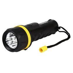 Светодиодный фонарь 3 LED Smartbuy SBF-77-K (черный)