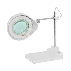 Лупа настольная с подсветкой Zhengte 8608E-D X5