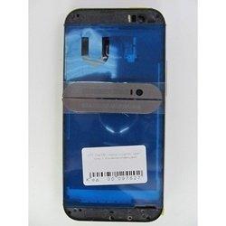 Корпус для HTC One M8 с боковыми клавишами (lcd1 97627) (серый) (1-я категория)