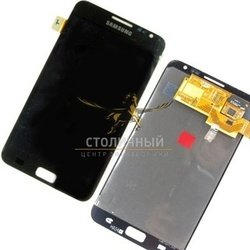 дисплей для samsung galaxy note n7000 с тачскрином без рамки (lcd1 46390) (черный)