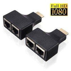 Удлинитель HDMI Orient VE041 (черный)