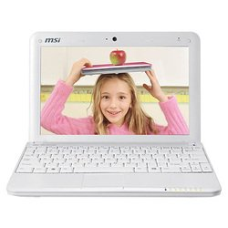 "msi wind u100 (atom n270 1600 mhz/10.0""/1024x600/1024mb/80.0gb/dvd нет/wi-fi/bluetooth/winxp home)"