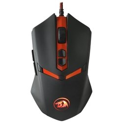 redragon nemeanlion black-red usb