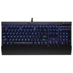 Corsair Gaming K70 LUX Cherry MX Red blue backlighting Black USB