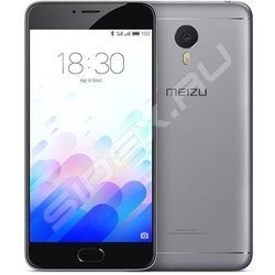 Meizu M3 Note 16Gb (черно-серый) :::