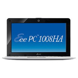 "asus eee pc 1008ha (atom n280 1660 mhz/10.1""/1024x600/1024mb/250gb/dvd нет/wi-fi/bluetooth/win 7 starter)"