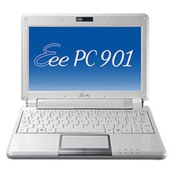 "asus eee pc 901 (atom n270 1600 mhz/8.9""/1024x600/1024mb/12.0gb/dvd нет/wi-fi/bluetooth/winxp home)"