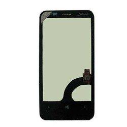 Тачскрин для Nokia Lumia 620 в рамке (V.3) (М0943473) (черный)