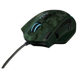trust gxt 155 gaming mouse camouflage green usb