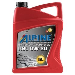 ALPINE RSL 0W-20 5 л