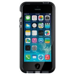 клип-кейс для apple iphone 5,5s,se (tech21 evo mesh t21-5168) (дымчатый, черный)