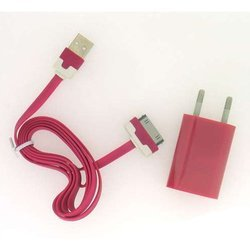 ������� �������� ���������� 1,2a + ������ usb 30pin ��� apple iphone 2, 3, 4 (�0038569) (�������)