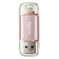 Apacer AH190 32GB (AP32GAH190H-1) (розовое золото)
