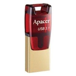 Apacer AH180 32GB (AP32GAH180R-1) (красный)