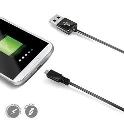 Дата-кабель USB - micro USB (Celly USBMICROB) (черный)