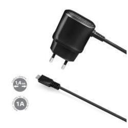 Сетевое зарядное устройство microUSB (Celly TCMICRO) (черный)