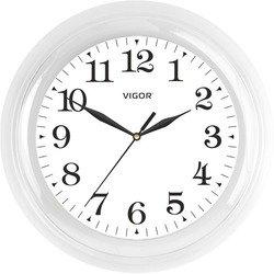 Часы настенные Vigor Д-24 Классика (белый)