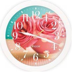 Часы настенные Vigor Д-29 Розовые розы
