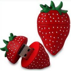 Носитель информации USB 2.0 8GB (10513) (клубничка)