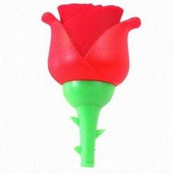 Носитель информации USB 2.0 8GB (10482) (роза, красная)