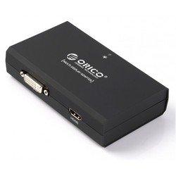 Переходник USB 3.0-HDMI/DVI (Orico DHU3A) (черный)
