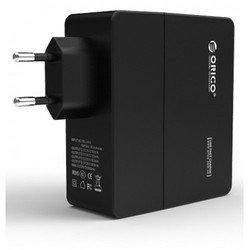 Сетевое зарядное устройство Orico DCA-4U-BK (черный)
