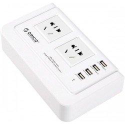 Универсальное сетевое зарядное устройство ORICO OPC-2A4U (белый)