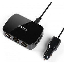 Автомобильное зарядное устройство ORICO MP-4U3S (черный)