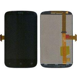 Дисплей для HTC Desire C (A320e) с тачскрином (черный) (М0039032)