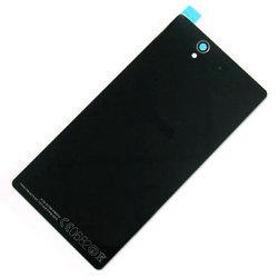 Задняя крышка для Sony Xperia Z C6603 (черный) (М0943608)