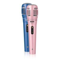 Микрофон проводной BBK CM215 (синий, розовый) (2 шт)