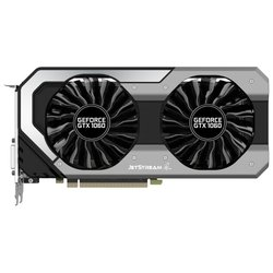 Palit GeForce GTX 1060 1506Mhz PCI-E 3.0 6144Mb 8008Mhz 192 bit DVI HDMI HDCP JetStream RTL