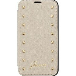 �����-������ ��� apple iphone 6, 6s (guess studded booktype guflbkp6sac) (��������)