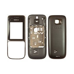 Корпус для Nokia C2-01 (М0033621) (черный)