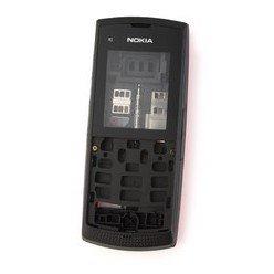 Корпус для Nokia X1-01 (М0034680) (черный)
