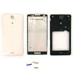 Корпус для Sony Xperia TX LT29i (М0942804) (белый)